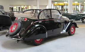 peugeot history file peugeot 202 4 door cabriolet at sochaux jpg wikimedia commons