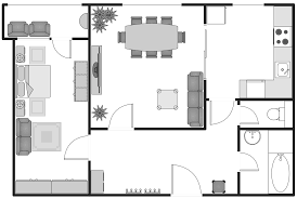 office layout plans solution conceptdrawcom sample wedding