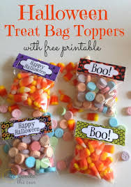 halloween treat bag toppers here comes the sun