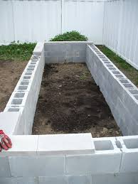Pvc Raised Garden Bed - concrete raised garden beds easy to build and fairly cheap