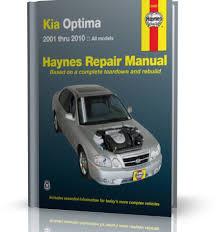 kia optima instrukcja naprawy z wydawnictwa haynes motowiedza