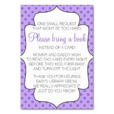 bring book instead of card to baby shower bring a book instead cards invitations zazzle co uk