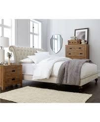 victoria upholstered queen bed furniture macy u0027s