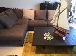 l shaped modular linen sofa by bauhaus u2013 consignment furniture ltd