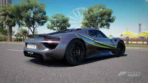 porsche 918 acid green forza horizon 3 livery contests 29 contest archive forza