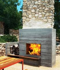 patio ideas built your own outdoor fireplace with the though