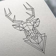 the 25 best stag tattoo design ideas on pinterest geometric