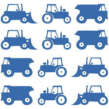 construction vehicles child s room wall decals ethical market construction vehicles child s room wall decals