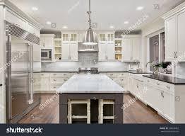 Kitchen Interior Designs Kitchen Interior New Luxury Home Stock Photo 243653452 Shutterstock