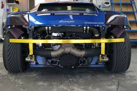 nissan titan turbo kit titan motorsports lamborghini gallardo twin turbo installation by