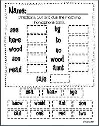 homonyms worksheets for 2nd grade 100 images free homonyms