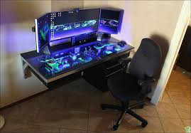 Custom Gaming Desks Pc Gaming Desk 9 Amazing Pc Battle Stations Voicesofimani
