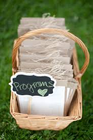 basket for wedding programs virginia wedding ceremony rudy united with