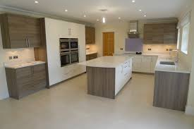 the kitchen furniture company gloss magnolia and grey acacia wood by hacker at the kitchen