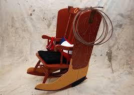Rocking Horse High Chair Urban Design Group Creates Western Inspired U201ccowboy Up U201d Rocking