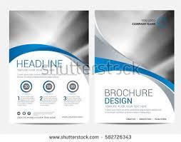 brochure flyer design template background stock vector 534644716