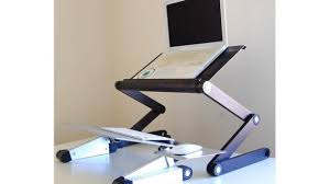 Laptop Desk With Wheels New Standing Laptop Desk Within Wooden On Wheels With Shelves