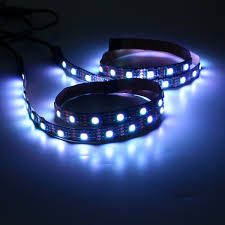 2pcs 50cm 5050 rgb usb led strip light bar tv background lighting