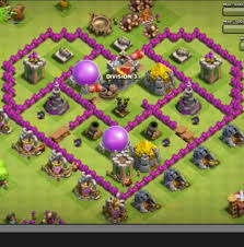 coc map layout th6 clash of clans th6 heart shaped farming base clash of clans