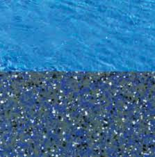 fiberglass swimming pool paint color finish pacific blue 1 calm