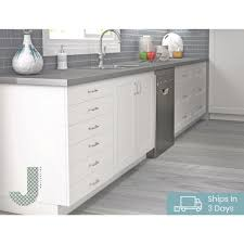 kitchen base cabinets cheap j collection shaker assembled 15x34 5x14 in shallow base