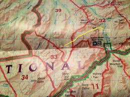 Denali National Park Map Alaska Stony Creek Unit 39 To Toklat River Unit 32 Denali
