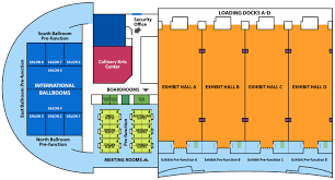 Georgia World Congress Center Floor Plan by Delta Vacations University Georgia International Convention Center