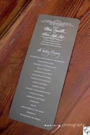 wedding program stationary wedding program stationary created by dodeline invitations
