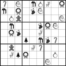 christmas sudoku puzzles holiday fun with patterns tpt