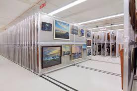 art storage mobile art rack system painting storage patterson