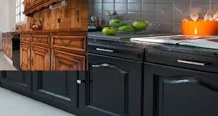 cuisine repeinte en noir repeindre sa cuisine en noir 37058 sprint co