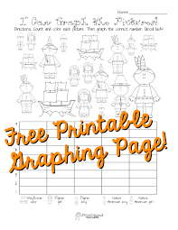 free thanksgiving graphing worksheet kindergarten grade