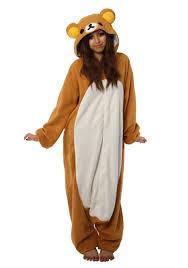 Kigurumi Halloween Costume Rilakkuma Kigurumi Pajama Costume Rilakkuma Pyjamas