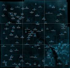 Fallout New Vegas Map With All Locations by Fallout 3 World Map Fallout 3 World Map Fallout 3 World Map