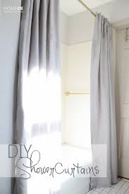 How To Hang Shower Curtain Take It From The Pros View Along The Way Diy Curtains