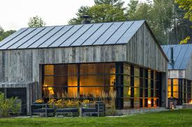building a home in vermont sleek guesthouse clad in repurposed wood rises in vermont curbed