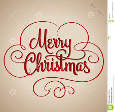 merry lettering vector stock vector image 32863279