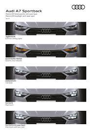 2018 audi a7 sportback u2013 all models hybrid audi ai image 726225