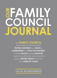 our family council journal m russell ballard 9781629723051 our family council journal m russell ballard 9781629723051 amazon com books