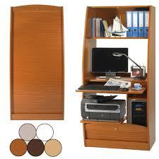 armoire bureau informatique armoire informatique bois fashion designs