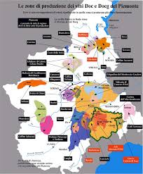 Italy Time Zone Map by Piemonte Wine Map The Best Wines In Italy Sommelier Oenology