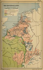 map of poitiers map of the burgundian lands 1361 1543