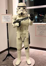bakers create an incredible life size stormtrooper cake daily