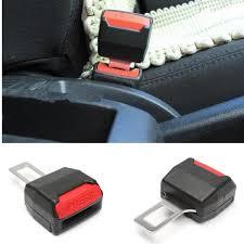 clip ceinture siege auto 2x boucle pince ceinture de sécurité universel alarme stop siège