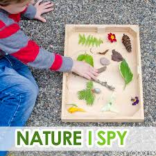 Nature i spy with toddlers busy toddler