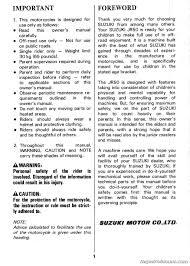 suzuki jr50 owners manual 1991 jr50m