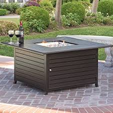Outdoor Firepit Cover Best Choice Products Bcp Extruded Aluminum Gas Outdoor