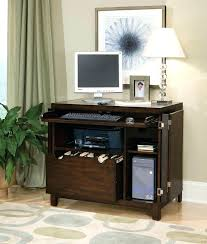 Small Computer Desk With Drawers Compact Computer Desk With Drawers Chair Hutch Antique Table And