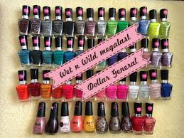 what u0027s in my stash wet n wild megalast nail polishes dollar