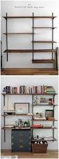 Built In Wall Shelves by Threshold Wall Shelf With Mirror
